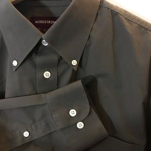Nordstrom Smartcare Button Down Dress Shirt Large